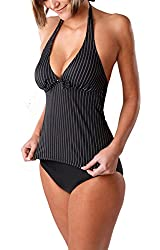 Women`s Push Up Tankini with Panty two pieces 1003AS-W300-f3774