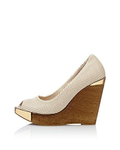 RRM Zapatos con Cuña Peep Toe