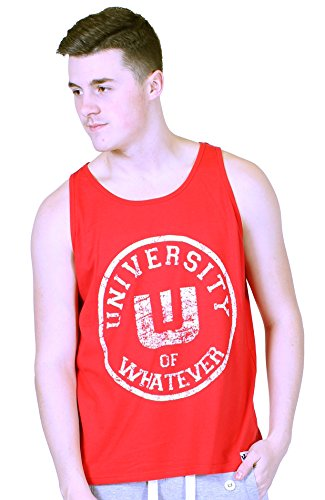 UOW Gym Tank Tops Men Varsity Red 2XL