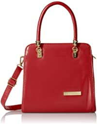 Lino Perros Women's Handbag (Red) - B01DLW31C2