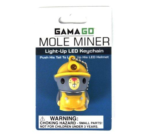 Mole Miner - Light-up LED Keychain
