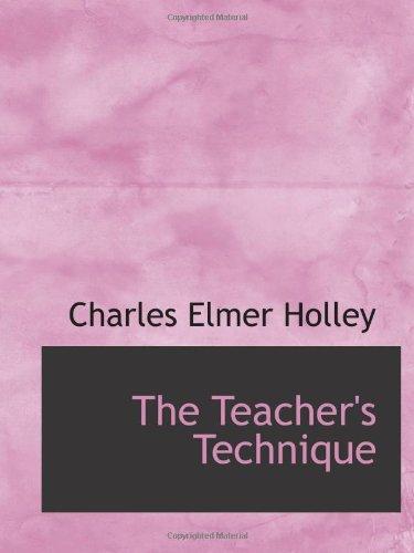 Technique de l'enseignant