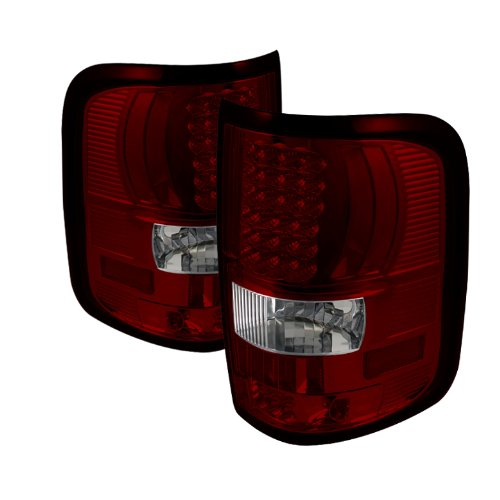 Spyder Auto Alt-On-Ff15004-Led-Rc Ford F150 Styleside Red/Clear Led Tail Light