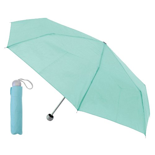 Womens/Ladies Pastel Supermini Small Umbrella with Ball Handle