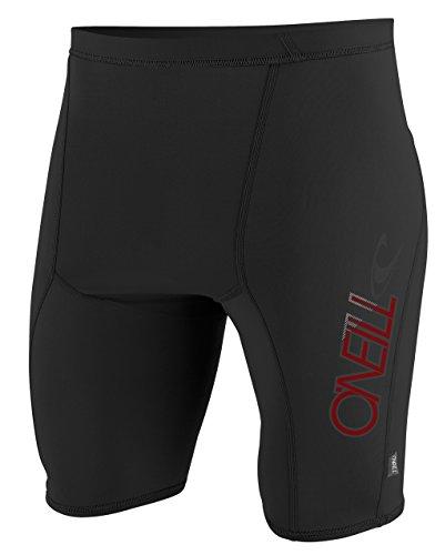 O' Neill Wetsuits pantaloncini da uomo Protezione UV Skins, Uomo, Uv Schutz skins shorts, nero, XL