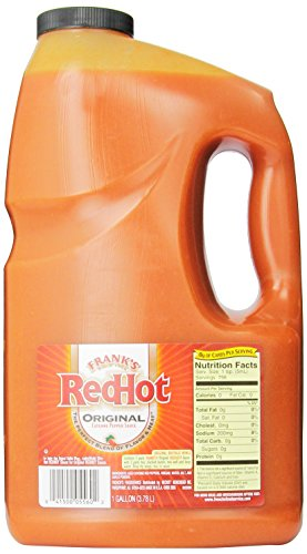 Frank's Red Hot Cayenne Pepper Sauce, Original, 128 Ounce (Gallon Red Hot Sauce compare prices)