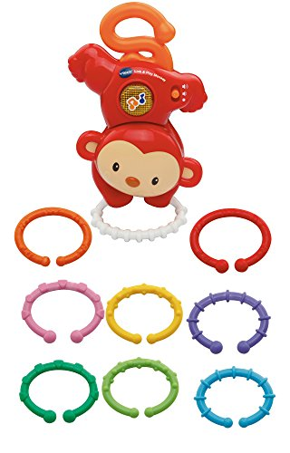 Vtech Baby - Link & Play Monkey - Verbinden und Spielen Affe (Englische Sprache)