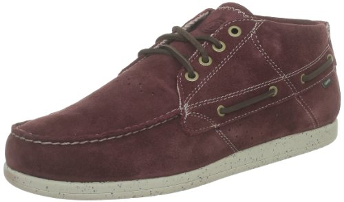 Element Hampton Suede A Shoes - Burgundy