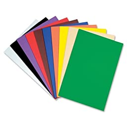 ChenilleKraft Wonderfoam Large Sheet - 18quot; x 12quot; - Assorted