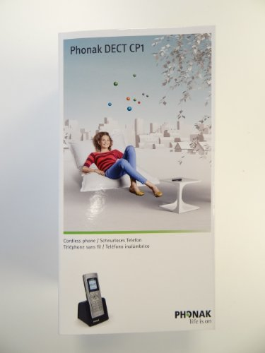 Phonak DECT CP1 Wireless Telephone Hearing Aid Accessory