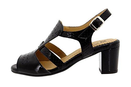 Scarpe donna comfort pelle Piesanto 8493 sandali larghezza speciale