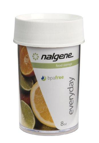 Nalgene Kitchen Storage Jar, 8-Ounce, Clear front-431835