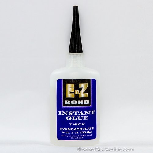 K & R S-320 E-Z Bond Thick Big Gap Filling Instant Glue, 2 oz Bottle
