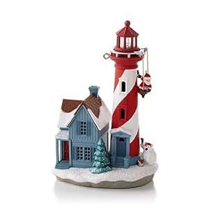 Holiday Lighthouse #2 Series 2013 Hallmark Ornament