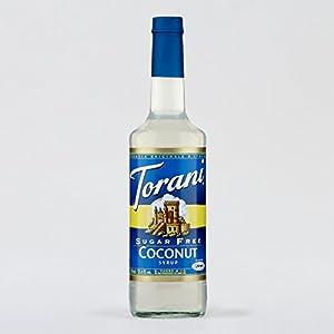 Torani Sugar Free Coconut Syrup, 750mL