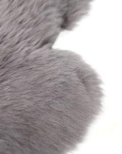 Lambland Hand Finished Quality Large British Sheepskin Rug - Slate Grey by Lambland