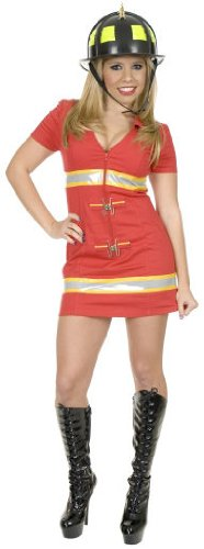 Charades Fire Fox Firefighter Costume