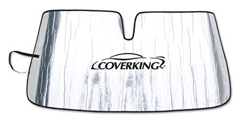 coverking-custom-sunshade-for-select-lexus-rx-330-350-400h-models-reflective-mylar-foam-silver-by-co