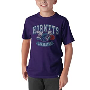 NBA New Orleans Hornets Flanker Scrum Tee, Grape by