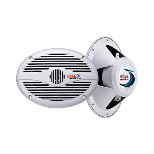Pair Boss Mr690 6X9 350W 2 Way Marine Audio Speakers 350 Watt