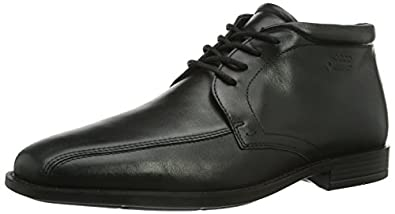 ECCO Men's Edinburgh Chukka Boot,Black,39 EU/5-5.5 M US