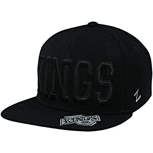 Zephyr Gotham LA Kings Snapback Hat Black. Size: