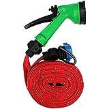 SUPO 10 Meter Car Bike Garden Washing Pipe Water Spray Gun