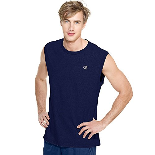 Champion T2231 Mens Jersey Muscle Tee - Oxford Grey - M T2231