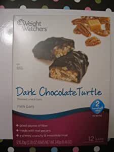 Weight Watchers Dark Chocolate Turtle Mini Bars