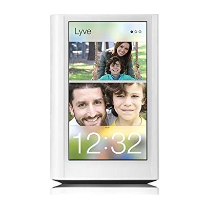 "Lyve Home Photo and Video Manager, 5"" Screen, 2TB Storage, 549x960px, Gigabit Ethernet, WiFi, HDMI, USB 2.0"