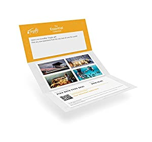 Worldwide Experience Gifts - Essential Tinggly Voucher / Gift Card Instant E-mail Delivery