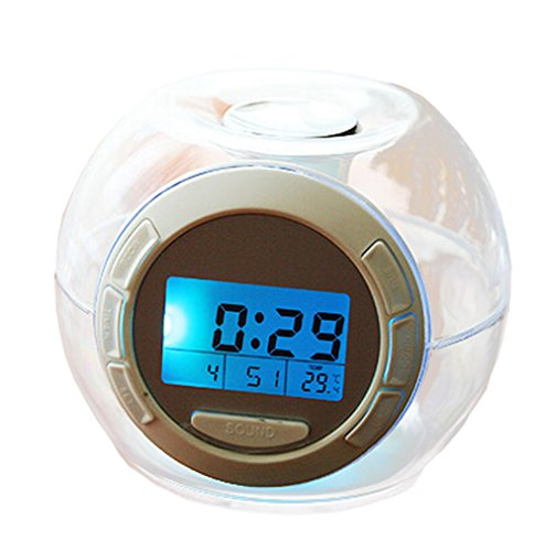 Ainyclocks Children Color Changing Alarm Clock With Soothing Sounds Clocks Send Battery