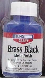 Brass Black 真鍮黒染め液 ブラスブラック バーチウッド