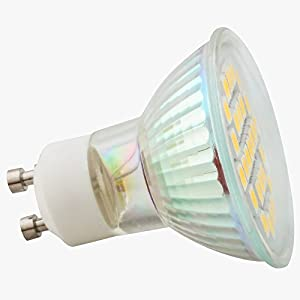 ELINKUME 10X 5W GU10 29 SMD 5050 LED Energy Bulbs Cool White(6000-7000K)AC200-240V by Elinkume