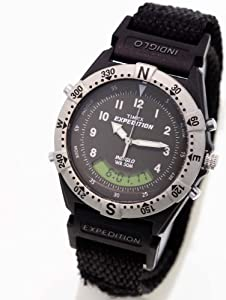 buy timex expedition analog digital grey s