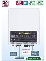 DXアンテナ CATVブースター CS/BS・770MHz帯双方向(屋内屋外共用) CF30L2CH