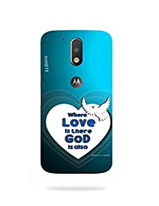 alDivo Premium Quality Printed Mobile Back Cover For Moto G4 Plus / Moto G4 Plus Printed Back Case Cover (MKD1039)