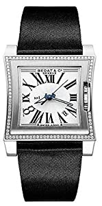 Bedat No. 1 Diamond Steel Black Ladies Watch 114.020.100 from Bedat