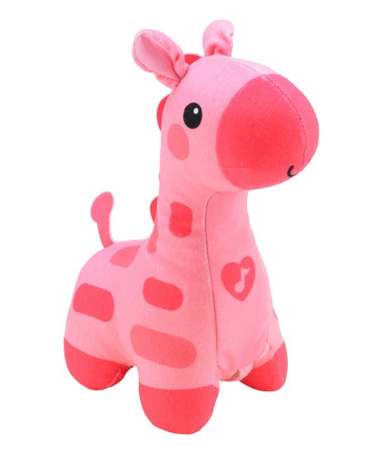Fisher-Price Soothe And Glow Giraffe, Pink front-30877
