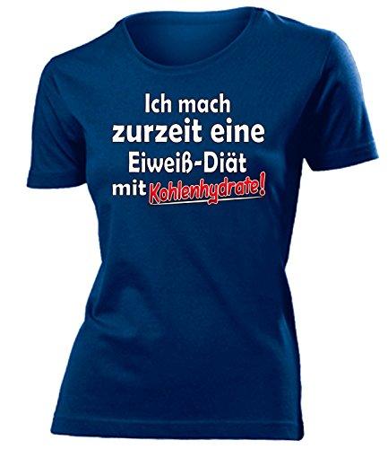Diät - Sport - ICH MACH ZURZEIT EINE EIWEIß DIÄT MIT KOHLENHYDRATE FUNSHIRT 4820(F-N) Gr. XL