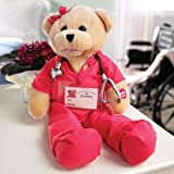 """Chantilly Lane 19"""" Scrubs Female Bear Sings """"Ill Be There"""""""