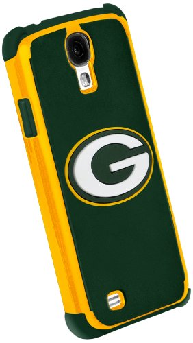 Forever Collectibles Green Bay Packers Rugged Dual Hybrid Samsung Galaxy S4 Case at Amazon.com