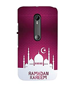 iFasho Ramadan muslim cover Back Case Cover for Moto G3