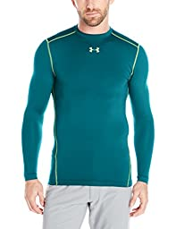 Men\'s Under Armour ColdGear Armour Compression Crew, Legion Blue (400), Large