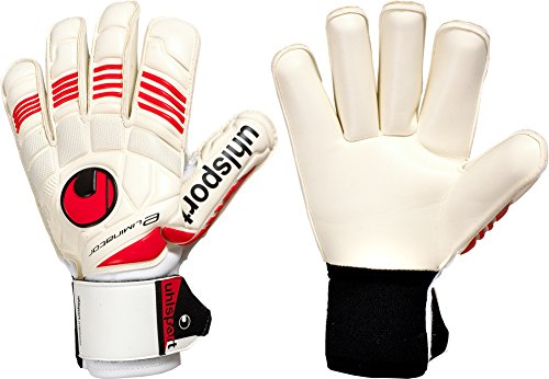UHLSPORT ELIMINATOR SOFT ROLL FINGER Goalkeeper Gloves uhlsport uhlsport anatomic goalkeeper pants