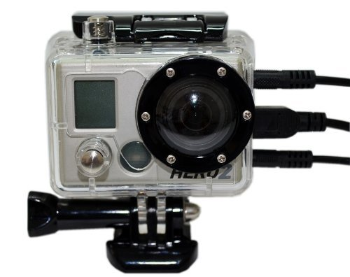 Carry360 Skeleton Housing Without Lens For Gopro Hd Hero / Hd Hero2 Camera