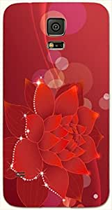 Noticeable multicolor printed protective REBEL mobile back cover for Samsung Galaxy S5 / SM-G900I D.No.N-L-17874-S5