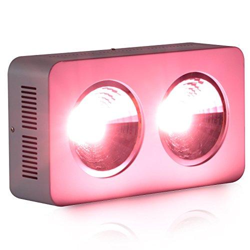 Roleadro 400W COB LED Lampade per Piante Coltivazione Indoor in Serra Grow Box