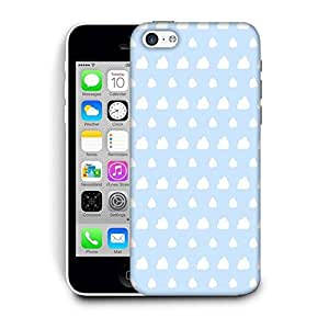 Snoogg White Clouds Printed Protective Phone Back Case Cover For Apple Iphone 6 / 6S