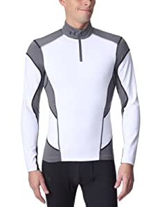 Under Armour CG Fitted Hybrid Wind Block 1/4 Zip Coupe-vent homme Blanc M